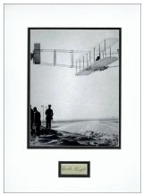 Orville Wright Autograph Signed Display